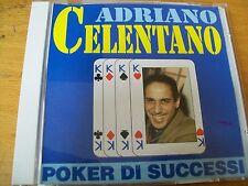 ADRIANO CELENTANO POKER DI SUCCESI CD MINT-- ALPHARECORD