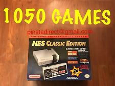 Modded 1050 games** Nintendo Entertainment System NES Classic Edition Conso