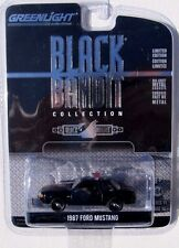 GREENLIGHT BLACK BANDIT SERIES 11 1987 FORD MUSTANG POLICE
