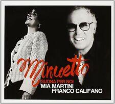 CD MINUETTO - Franco Califano, Mia Martini - Audio 2 CD......NUOVO