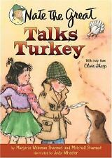 Nate the Great Talks Turkey-ExLibrary