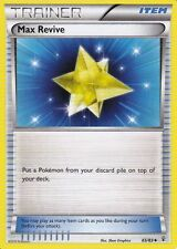 MAX REVIVE 65/83 GENERATIONS POKEMON TRAINER CARD 20TH ANNIVERSARY