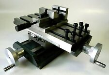 "Precision Low Profile Compound X/Y Cross Slide Table + 2"" Quick Release Vise New"