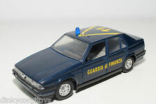 BBURAGO BURAGO ALFA ROMEO 75 GUARDIA DI FINANZA EXCELLENT CONDITION
