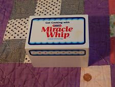 KRAFT_Miracle Whip - *Mail-In* Giveaway - Recipe Holder - Ltd. (FREE SHIP.) USA