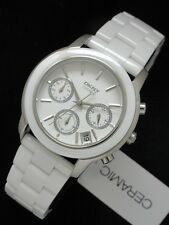 DKNY SEXY LADIES LUXURY WHITE CERAMIC COLLECTION WATCH NY8313