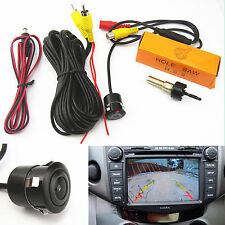 Car SUV Rearview Reverse Backup Parking 170º Wide-angle HD Camera With Drill Bit