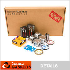 95-97 Suzuki Swift Geo Metro 1.3L SOHC Full Gasket Piston Bearing&Rings Set G13A