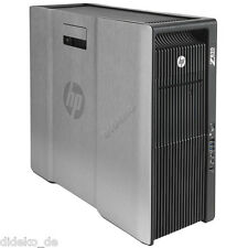 HP Z820 Workstation 2x OctaCore Xeon E5-2687W 32x 3,1 GHz 64 GB RAM 2 TB HDD