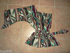 Damen Chiffon-Bluse PILOT P 36-38 Tuniken S-M asymmetrisch Fledermaus-Ärmel bunt