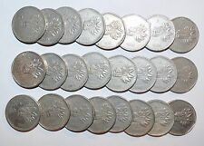 MEXICO lot 5 PESOS five cinco vintage world foreign G Mexican large 24 COINS