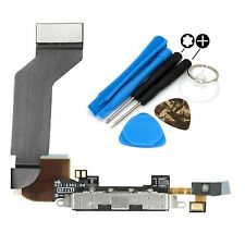 Replacement Dock Connector Microphone USB Charging Port & Tools For iPhone 4S