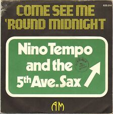 "NINO TEMPO & 5th AVE.SAX ""COME SEE ME 'ROUND MIDNIGHT"" SOUL FUNK 70'S SP"