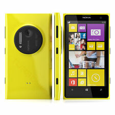 "Unlocked Yellow 4.5"" NOKIA LUMIA 1020 4G LTE GSM Windows 8 Smartphone 32G ALA"