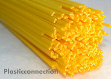 ABS Plastic welding rods (3mm) yellow, pack of 30 pcs /triangular shape/