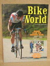 Vintage Bike World Bicycle Magazine August 1976 Oregon Trail Time Trialing