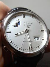 Glashutte Senator Panorama Date Moon Phase 100% LNIB UNWORN $11,000 List Perfect