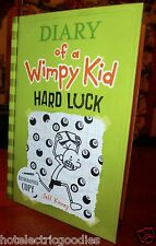 AUTOGRAPHED Diary Of A Wimpy Kid: Hard Luck Book 8 by Jeff Kinney NEW HC SIGNED