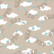 MODA Fabric ~ STORY  BOOK ~ by Kate & Birdie (13113 14) Stone - by 1/2 yard