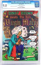 UNDERGROUND COMIX, BINKY BROWN MEETS THE HOLY VIRGIN MARY, CGC 9.0 1ST PRINT