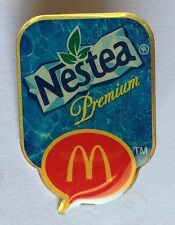 Nestea Premium McDonalds Authentic Pin Badge Rare (F7)