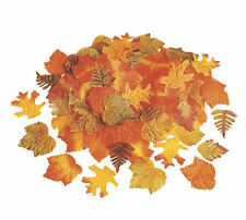 250 pc FALL LEAVES AUTUMN WEDDING DECORATIONS