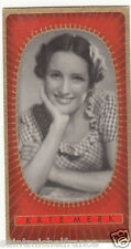 KÄTE MERK ACTRESS ACTRICE GERMANY DEUTSCHLAND ALLEMAGNE IMAGE CARD 30s