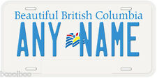 British Columbia Any Name Number Novelty Car Auto License Plate
