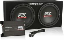 "MTX TNP212D2 1200W Dual 12"" Amplified Terminator Loaded Subwoofer Enclosure"