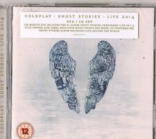 Coldplay - Ghost Stories Live 2014 CD Deluxe+Dvd (nuovo album/disco sigillato)