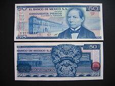 MEXICO  50 Pesos 27.1.1981 Serie LP  (P73)  UNC