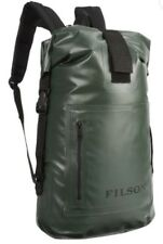New! Filson Green Dry Day Backpack. Roll Top Bag. Waterproof. Made In USA