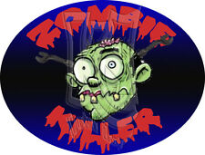 "Ironworker ""Zombie Killer"" Sticker FREE SHIPPING!!"