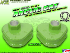 Arctic Cat Block Spring Adjusters Torsion Billet Panther EXT ZL ZR F6 F7 M6 Grn