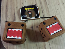 NEW Domo Kun Officially Licensed Plush Fuzzy Dice Car / Truck Accessories