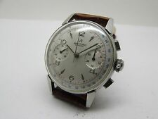 VINTAGE 1950's BREITLING CHRONOGRAPH TWO REGISTEER WINDING VENUS 188 MEN WATCH