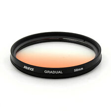 Albinar 58mm Orange Graduated Gradual Color Filter