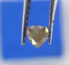 0.19TCW Pear shape Reddish Gray Color Antique Loose Rose cut Natural Diamond