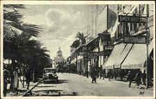Port Said Ägypten Egypte s/w AK 1930 Auto Car Street The Quai Sultan Hussein