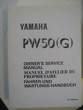 1995 Yamaha PW50 G : Factory Service Manual