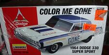 LINDBERG 1964 DODGE 330 COLOR ME GONE 1/25 Model Car Mountain KIT FS NHRA