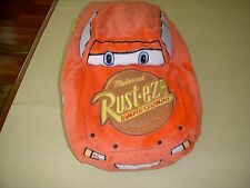 DISNEY PIXAR MICROBEAD PLUSH PILLOW LIGHTNING McQUEEN