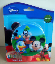New Disney Mickey Mouse and Friends Clubhouse Night Light