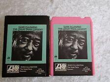 Vintage Duke Ellington - Great Paris Concert - Pink Case 8 Track Cartridge