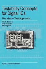 Frontiers in Electronic Testing Ser.: Testability Concepts for Digital ICs :...