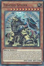 YU-GI-OH CARD: TRIAMID SPHINX - SUPER RARE - TDIL-EN030