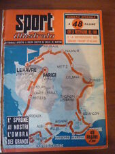 LOTTO SPORT ILLUSTRATO 1955 CICLISMO COPPI TOUR DE FRANCE CALCIO FERRARI BOBET