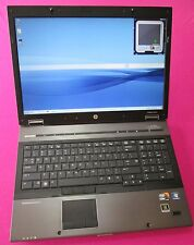 FAST! HP 8740w elitebook laptop I7-920xm 2.0-3.2Ghz 12GB ram 500GB NVIDIA K1100m