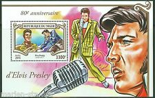 NIGER 2015 80th  BIRTH  ANNIVERSARY OF ELVIS PRESLEY  S/S  MINT NH
