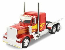 NewRay Peterbilt 379 Custom Cab 1:32 scale diecast trailer truck model Red N210